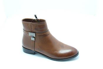 Ботинки демисезонные коричневые HG14