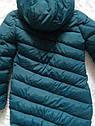 Пуховик зимний женский длинный молодежный на тинсулейте Алена Размер 52, фото 4