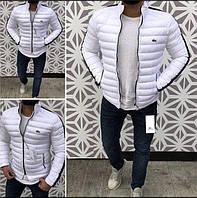 Куртка мужская Lacoste D4986 белая