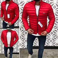 Куртка мужская Lacoste D4987 красная