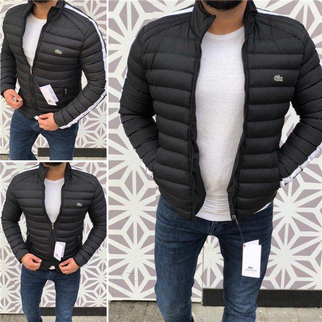 Куртка мужская Lacoste D4988 черная