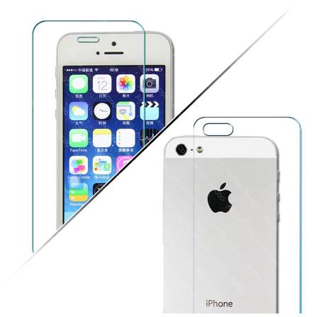 Cтекло защитное iphone 5 перед-зад #100337