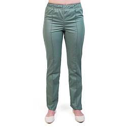 Медицинские штаны женские оливковые