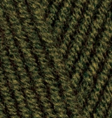 ALIZE LANAGOLD PLUS 214 оливковый зелёный