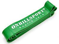 Латексная петля для фитнеса 2080 (ширина 45 мм зеленая 19-56 кг)