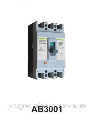 Автоматический выключатель АВ3001/3Н 3р 63А Промфактор