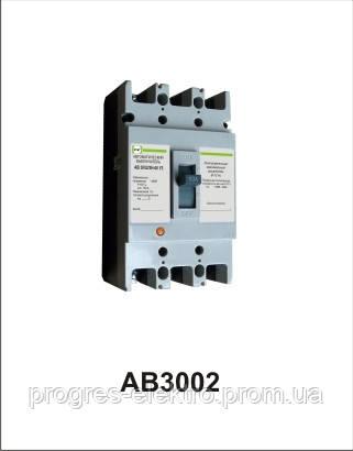 Автоматический выключатель АВ3002/3Н 3р 80А Промфактор