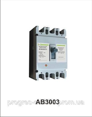 Автоматический выключатель АВ3003/3Н 3р 160А Промфактор