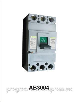 Автоматический выключатель АВ3004/3Н 3р 350А Промфактор