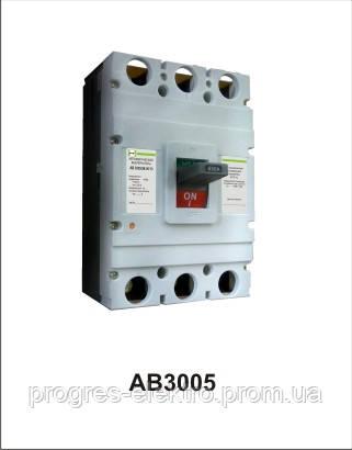 Автоматический выключатель АВ3005/3Н 3р 400А Промфактор