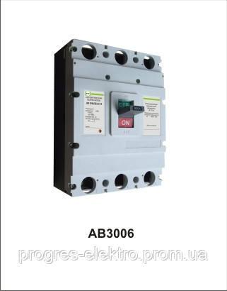 Автоматический выключатель АВ3006/3Н 3р 630А Промфактор