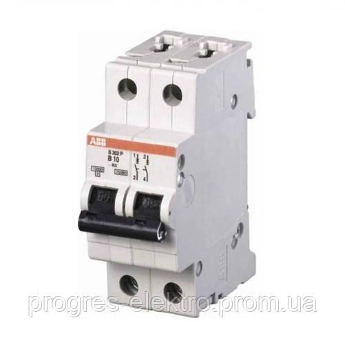 Выключатель автоматический SH202 C 2p 16A ABB