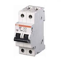 Выключатель автоматический SH202 C 2p 63A ABB