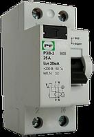 Устройство защитного отключения PЗВ-2 2р 25А 30мА Промфактор