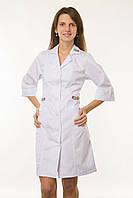 Медицинский халат с вышивкой
