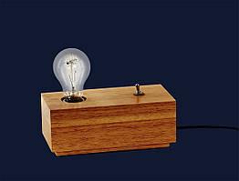 Светильник настольный  LOFT 72081469-1 WOOD
