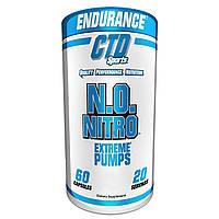 Предтренировочный комплекс CTD Sports N.O. Nitro (60 капс)