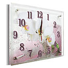Часы настенные с картиной под стеклом YS-Art 25х30см (PR003), фото 2