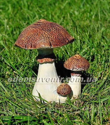 Садовая фигура Гриб зонтик, фото 2