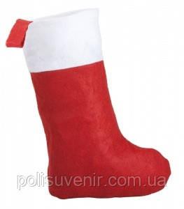 Носок новорічний для подарунків