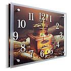 Часы настенные с картиной под стеклом YS-Art 25х30см (PR024), фото 2
