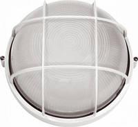 Светильник герметичный круг 100W с реш. белый