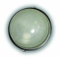 Светильник герметичный круг 100W без реш. черный