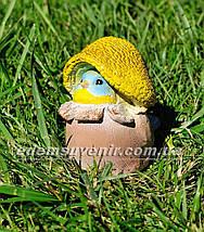 Садовая фигура Синичка грибочек, фото 2