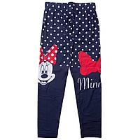 Детские лосины Минни Маус (Minnie) на девочек 3-8 лет ТМ Disney (Sun City) Синий в горошек RH1199-dots