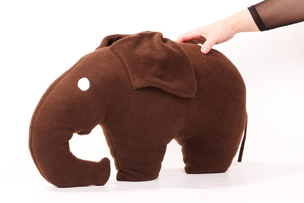 Подушка декоративная Слон