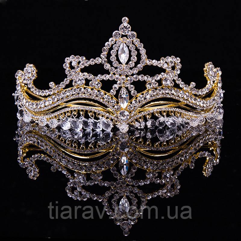 Диадема тиара ЭВЕН шикарная корона на голову