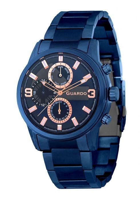 Мужские наручные часы Guardo P11410(m) BlBl