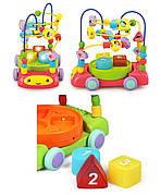 Музыкальная машинка каталка лабиринт сортер для малышей