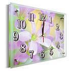 Часы настенные с картиной под стеклом YS-Art 25х30см (PR013), фото 2