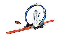 Детский трек Хот Вилс хотвилс Крутые виражи Hot Wheels Track Builder Loop Launcher Playset DMH51