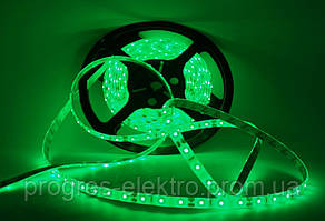 Светодиодная лента Силикон Зеленая 220В 60/SMD3528
