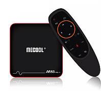 MECOOL M8S PRO W 2/16GB Smart TV (смарт тв) 4K Android приставка с голосовым управлением , фото 1
