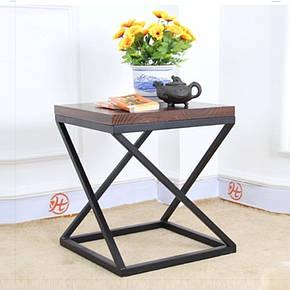 Стол журнальный, кофейный металлическое основание современного дизайна в стиле loft  Бент Металл-Дизайн, фото 2