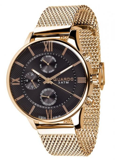 Чоловічі наручні годинники Guardo P11419(m) GB