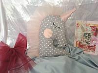 Іграшка-подушка єдиноріг. 100% бавовна., фото 4