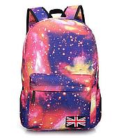 Рюкзак городской Галактика Космос Розовый, фото 1