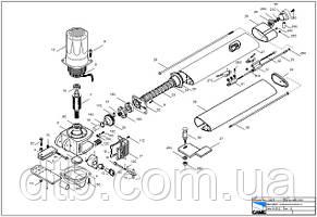 Деталировка, или взрыв-схемы ворот и автоматики