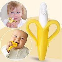 Прорезыватель для зубов – зубная щетка MirAks TR-3647 (Банан/грызунок)