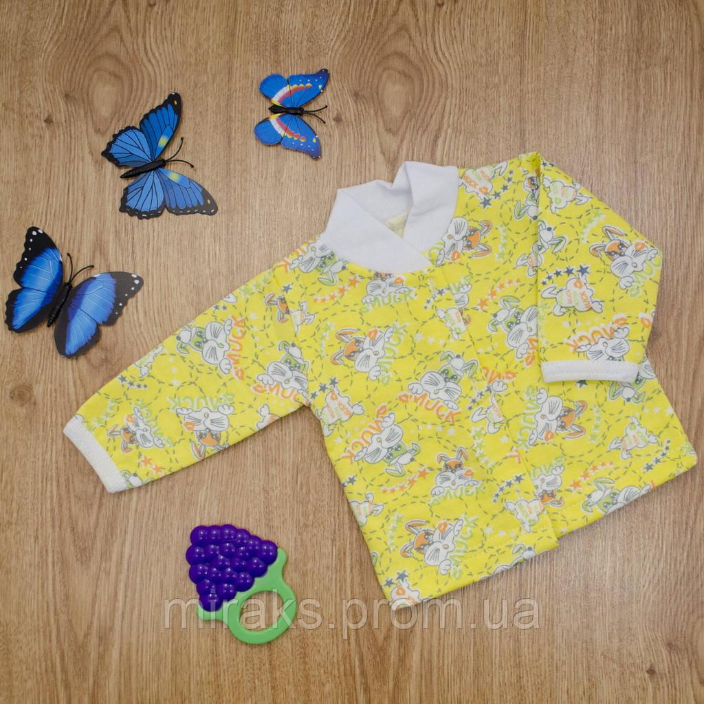9fd460f86eb9 Кофточка ясельная MirAks TN-4898-00 Yellow (Желтый/начес): продажа ...