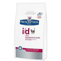 Hill's Feline I/D для терапии заболеваний ЖКТ и панкреатита -  0,4кг