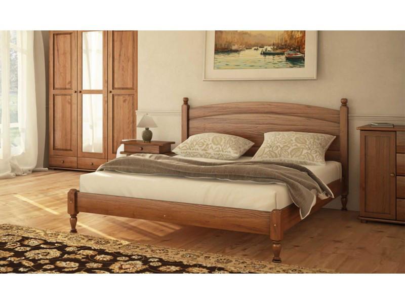 Деревянная кровать Л-207 140х190 см. Скиф