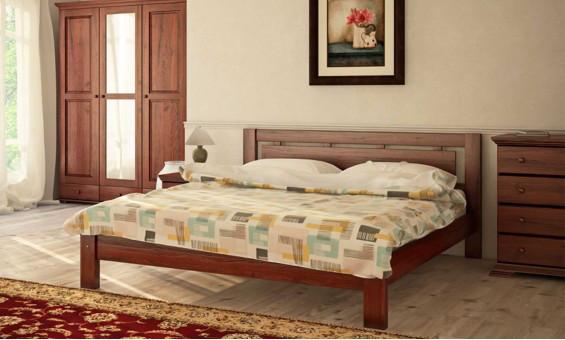 Деревянная кровать Л-209 160х190 см. Скиф