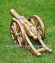 Садовая фигура Пушка, фото 3