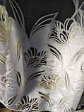 Тюль с принтованным рисунком Основа органза Высота 2.8 м., фото 3