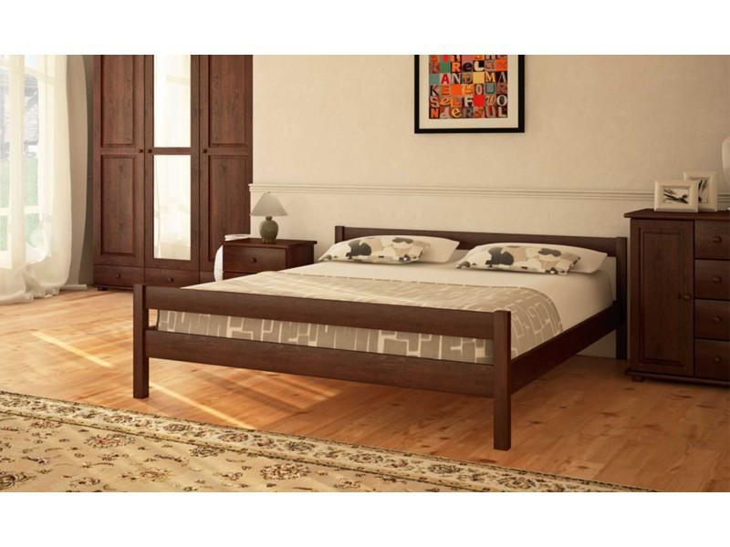 Деревянная кровать Л-220 120х190 см. Скиф